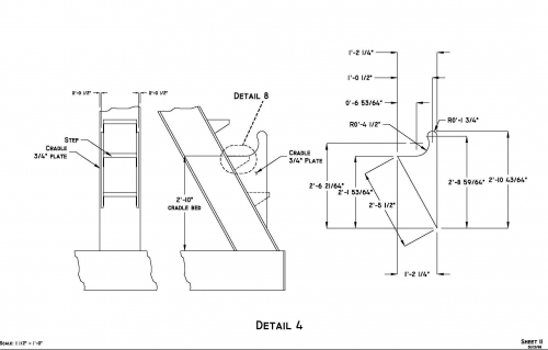 Mooring Spooler Section Drawings