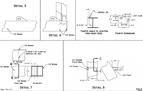 Mooring Spooler Drafting Details